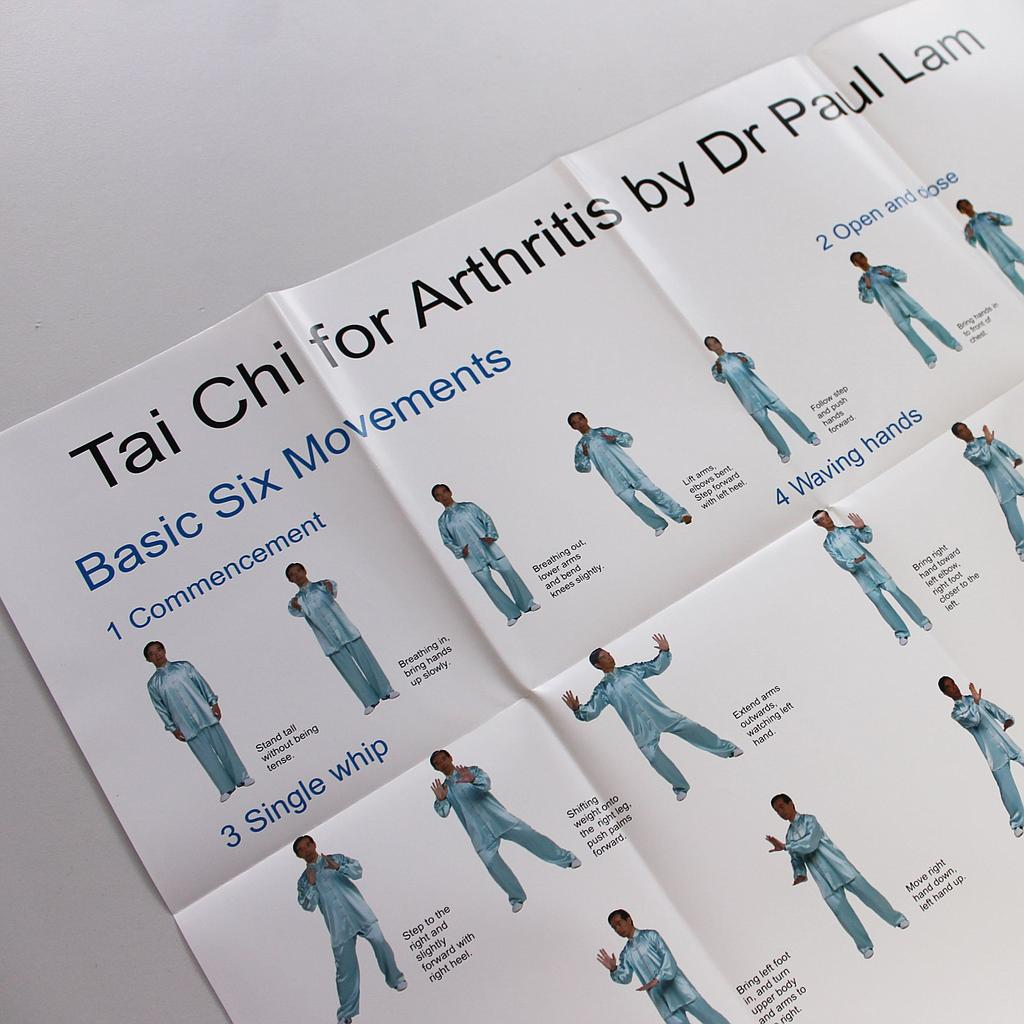 Dr Lam Tai Chi for Arthritis Part 1 Movement Chart